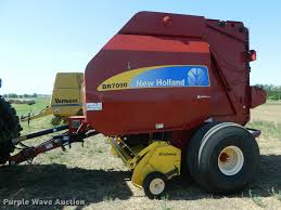 2010 new holland br7090 round baler item db1122 sold au