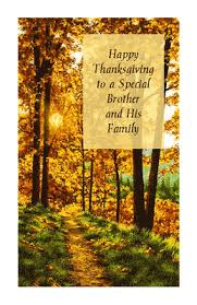 and his family thanksgiving printable card blue