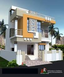 Front Design Of House In Indian Double Story