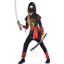 Ninja Halloween Costumes Girls Ultimate Ninja Costume