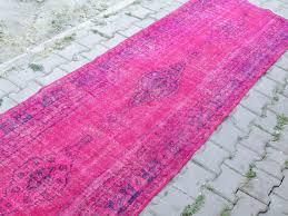 Pink Runner Rug Pink Runner Rug Chene Interiors