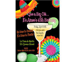mexican themed party invitations cimvitation