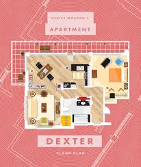see floor plans of famous fictional homes from friends to another tv character with an implausibly spacious city flat is sex and the city heroine carrie bradshaw check out the layout below complete with desk and