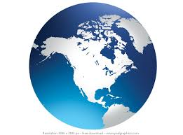 united states globe map globe america outline clipart clipground