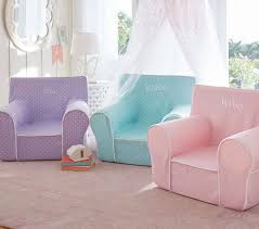 Pottery Barn Kids My First Chair Oversized Light Pink Pin Dot Anywhere Chair Pottery Barn Kids