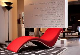 Buy Chaise Lounge Chair Design Ideas Bold Chaise Lounge With Curves Design Combined Red Leather