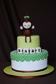 monkey baby shower cake monkey baby shower cake sweet discoveries