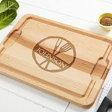 cutting board personalized personalized maple wood cutting board family brand for the home