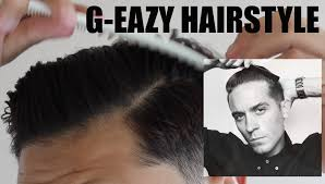 what product does g eazy use in his hair g eazy hair tutorial for wavy hair youtube