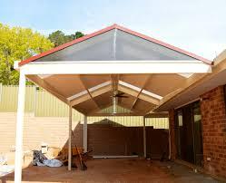 dmv verandahs adelaide gable with twin wall infill dmv outdoor