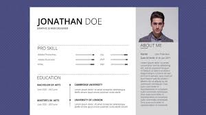 Free Professional Resume Template Free Professional Resume Template Cloud Gray Youtube