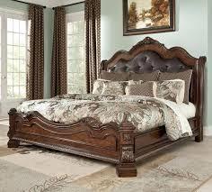 Vintage King Bed Frame Vintage King Size Headboard Bed Frame Antique Style Headboard Foot