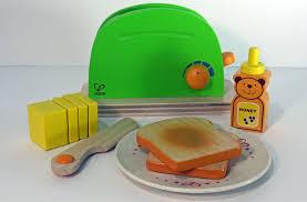 Fun Toaster Kids Toy Kitchen Play Toaster Fun Kitchen Toy From Hape Youtube
