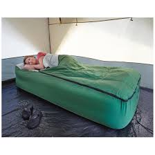 Twin Inflatable Bed guide gear twin air bed fitted cover sleeping bag 133847 air