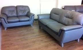 dark grey leather sofa scs cloud 3 2 light grey dark grey leather sofa suite in