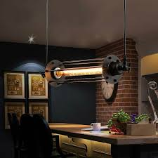 Kitchen Pendant Ceiling Lights Lukloy Vintage Flute Pendant Light Fixtures Industrial Retro