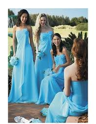 sell bridesmaid dress chiffon strapless a line floor length skirt sell bridesmaid