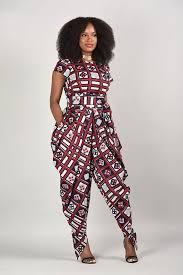 emem harem jumpsuit african print clothing african print