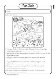 basic map skills worksheet worksheets