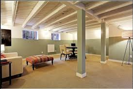 20 amazing unfinished basement ideas you should try painted
