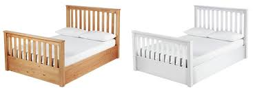 the collection anneka wooden ottoman bed choice of double