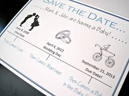 Baby Shower Save The Date 8 Best Images Of Save The Date Pregnancy Announcement Baby