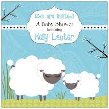 sheep baby shower baa sheep boy baby shower invitations paperstyle