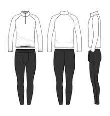 templates of blank t shirt shorts pants royalty free vector
