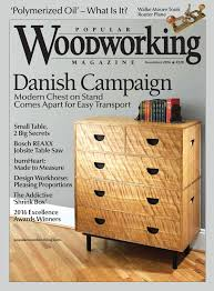 popular woodworking magazine november 2016 featuring secret spaces