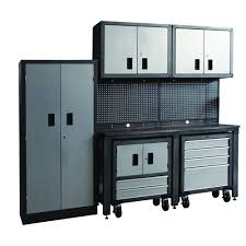 international gosii garage organization system black and gray 8