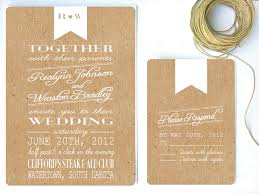 willow tree wedding invitations best collection of kraft paper wedding invitations theruntime com