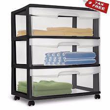 Skinny Storage Drawers Sterilite Storage Drawers Ebay