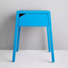 Metal Bedside Table Ikea Blue Bedside Table Table Designs