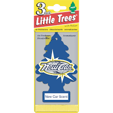 trees car air freshener vanillaroma 3 pk walmart