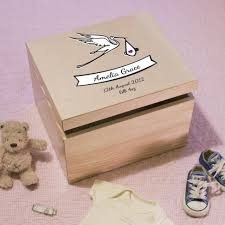 wooden baby keepsake box personalised wooden baby keepsake box