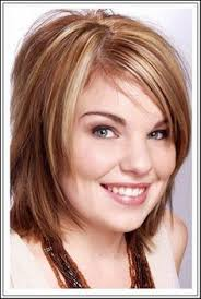 hairstyle for heavier face on woman nice short hairstyles for fat faces and double chins fat face