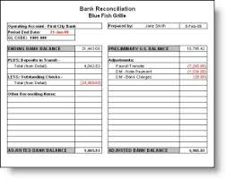 Balance Sheet Account Reconciliation Template Excel by Bank Reconciliation Statement And Its Template Excelide