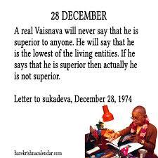 srila prabhupada s quotes for 28 december hare krishna calendar