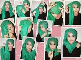tutorial jilbab ala ivan gunawan cara memakai hijab ala ivan gunawan kerudung trend