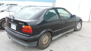 d bmw e36 318ti hatchback coupe built 1996 m44 no pp black m sport