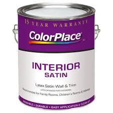 colorplace interior satin accent base paint 1 gal walmart com