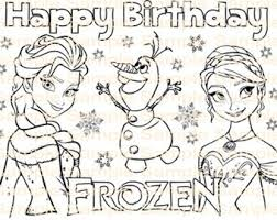 frozen coloring pages pdf coloring book pages kids color