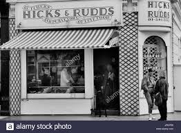 butchers black and white stock photos images alamy family butchers london england uk circa 1980 s stock image