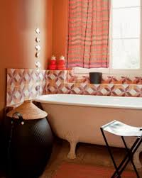 orange bathroom ideas 20 fresh orange bathroom ideas home design and interior