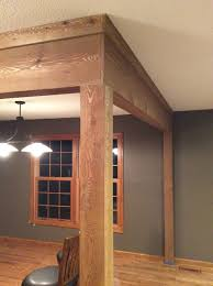 Decorative Column Wraps Need Help With Cedar Wrap On Support Beams
