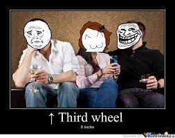 3rd Wheel Meme - third wheel funny cartoon wheel best of the funny meme