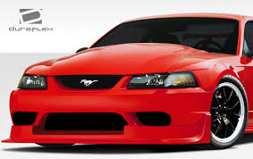 widebody mustang ford mustang duraflex cbr500 wide body front bumper cover 1