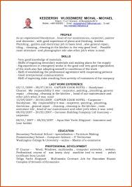professional resumes sle handyman resume sle for painter sle construction sles self