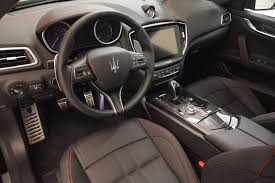 maserati ghibli interior 2017 maserati ghibli nerissimo edition s q4 stock m1898 for sale