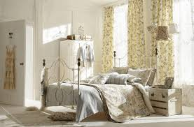 shabby chic bedroom curtains creamy wooden flooring and wooden